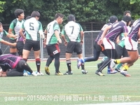 20150620合同練習with上智・盛岡大